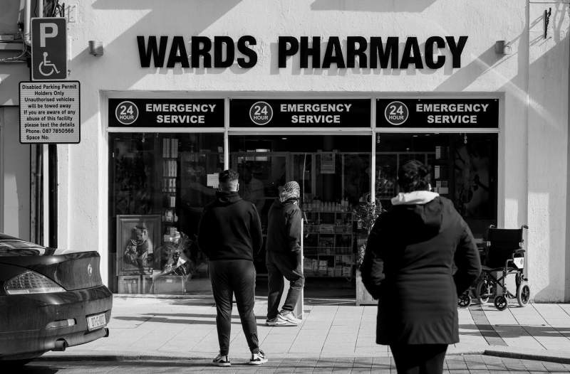 Wards Pharmacy, O'Connell Street, Sligo Town