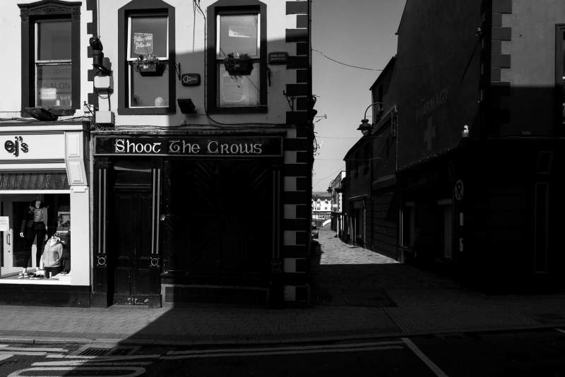 Shoot the Crows and alley, Sligo Town
