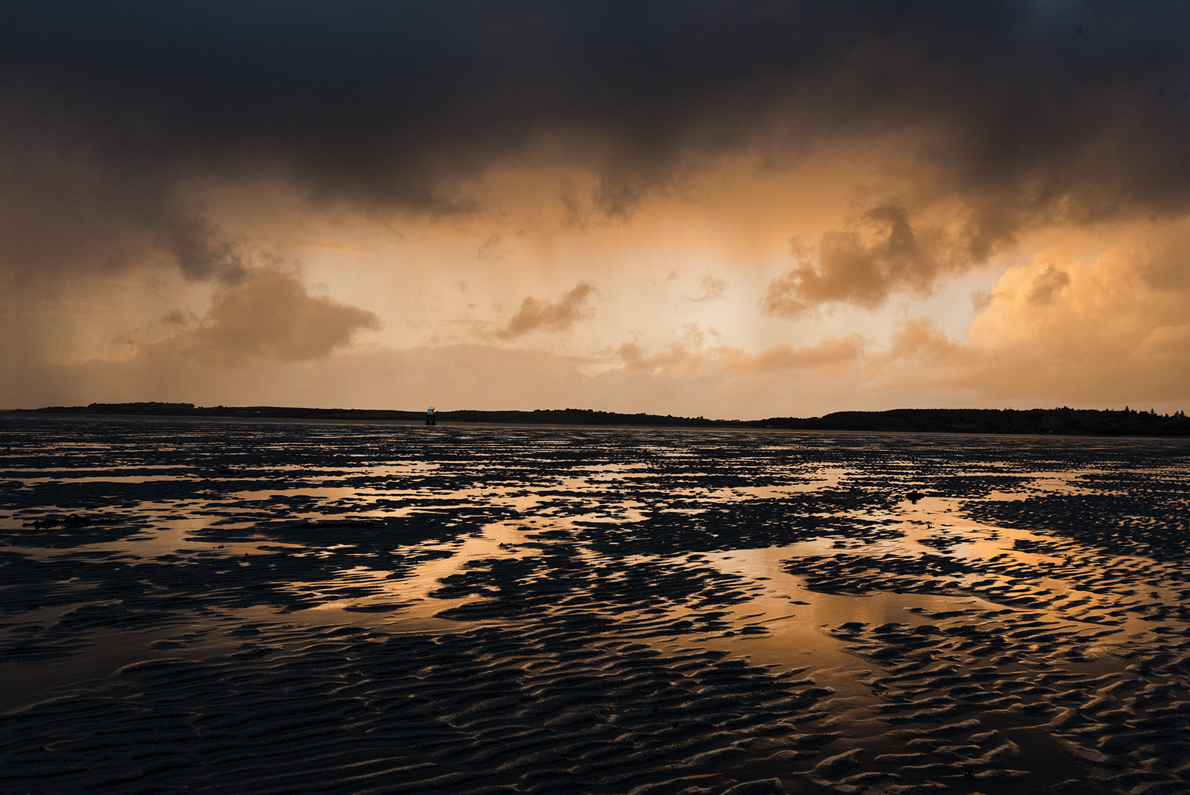 Rosses Point Beach at Sunset. Sligo