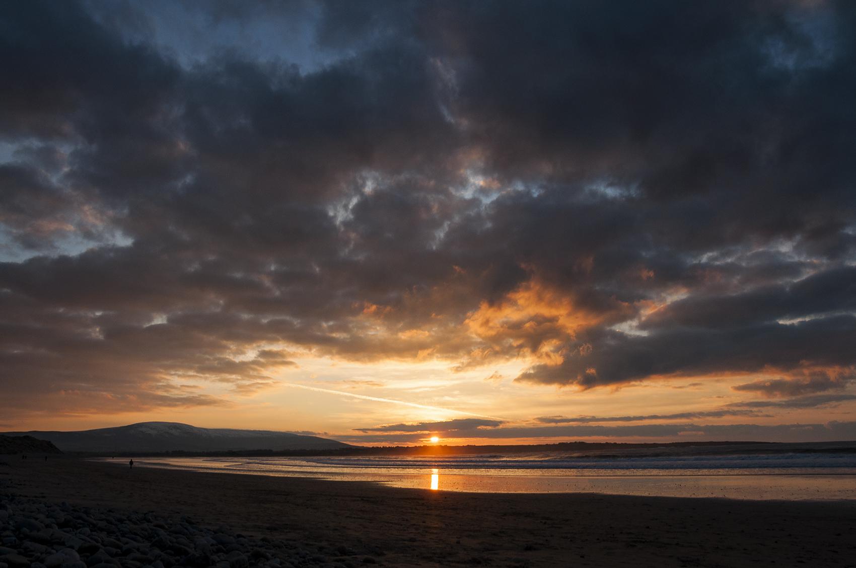 Sunset at Strandhill Beach, Sligo