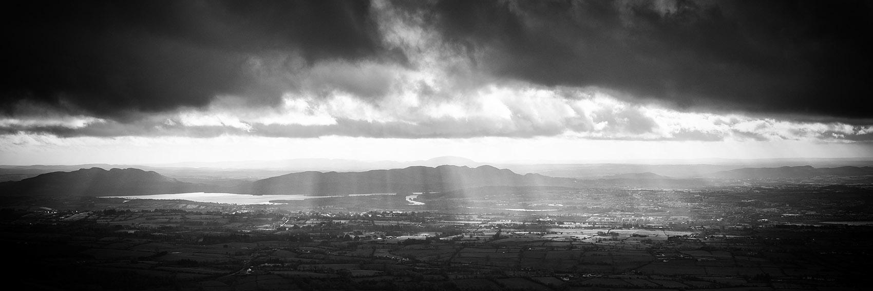 Lough-Gill-Sligo-Town-from-Benbulben-Mountain